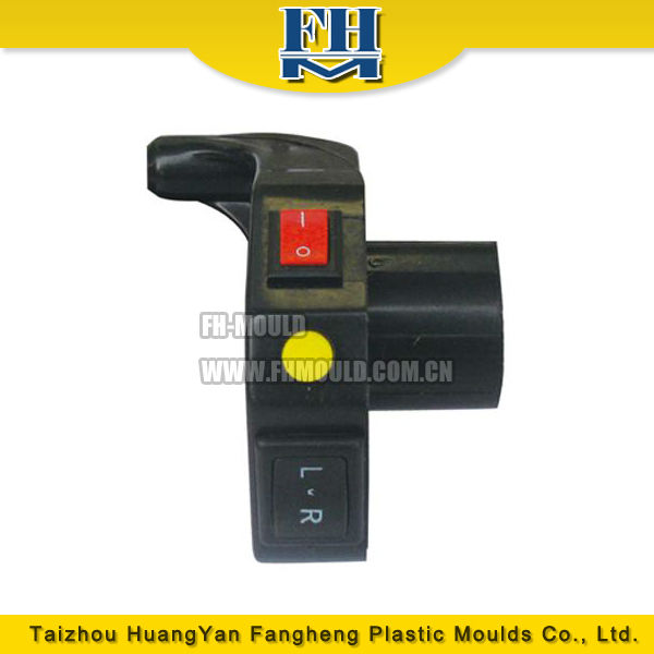 Zhejiang Taizhou plastic injection electric motorcycle switch mould supplier