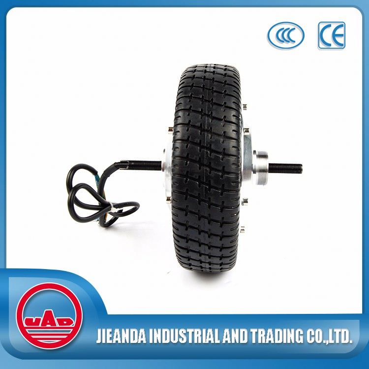 Low Speed Sinlge Shaft Geared Hub Motor For Wheelbarrow