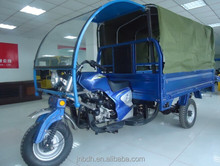 Motorized Driving Type Cargo Motorcycle with Driver cabin and closed box