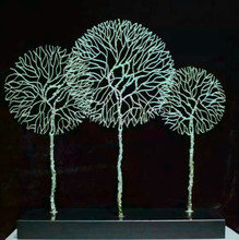 Tree Shape for craft punch supplies with handicraft garden art metal sculptures and metal craft