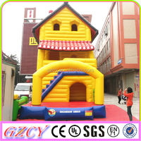 Outdoor Giant Building Inflatable Bouncer Playground