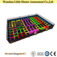 (LM-Tr010) Factory Price Trampoline Park Indoor Commercial Trampoline Park for Sale