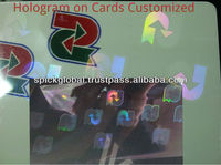 custom Holographic ribbon for id Cards Printers