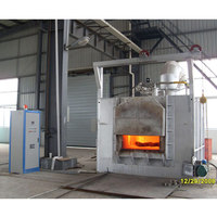 Industrial heat treatment metal normalizing furnace