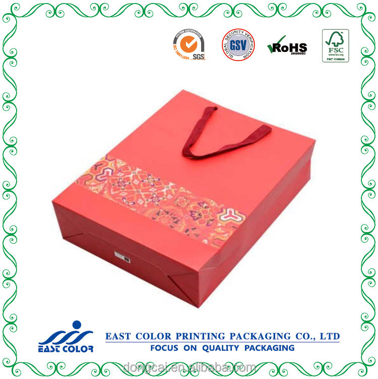 Gift paper shopping bag
