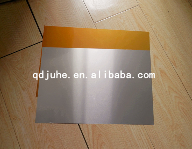 factory price mirror sublimation aluminum sheet , mirror surface plate