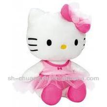 pink color cheap plush hello kitty
