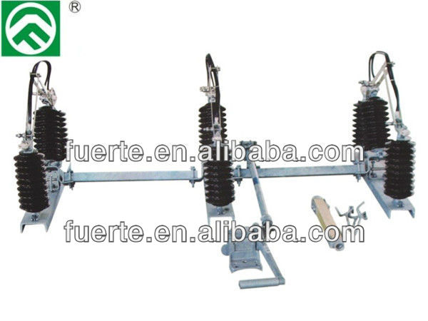 11KV Outdoor Disconnecting Switch porcelain insualtor type RH-B