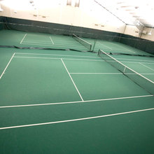 Silicone PU Material Court For Portable Indoor Tennis Court Flooring