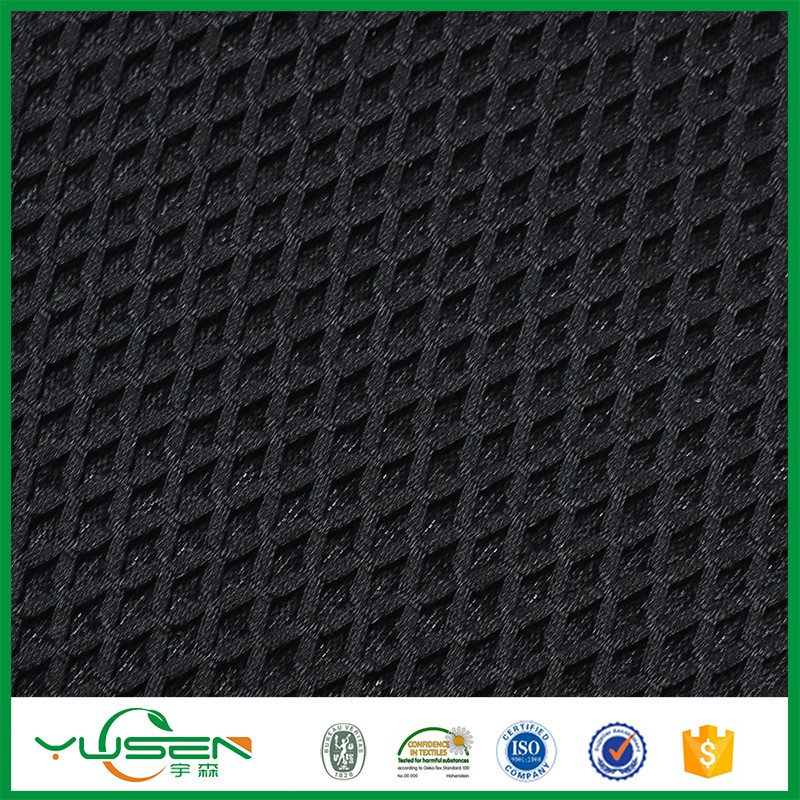 China manufacture 100% polyester high quality 3d air mesh fabric for sports shoes