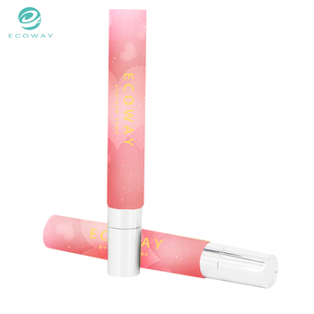 Personal care use empty 20ml eye cream plastic cosmetic tube manufacture