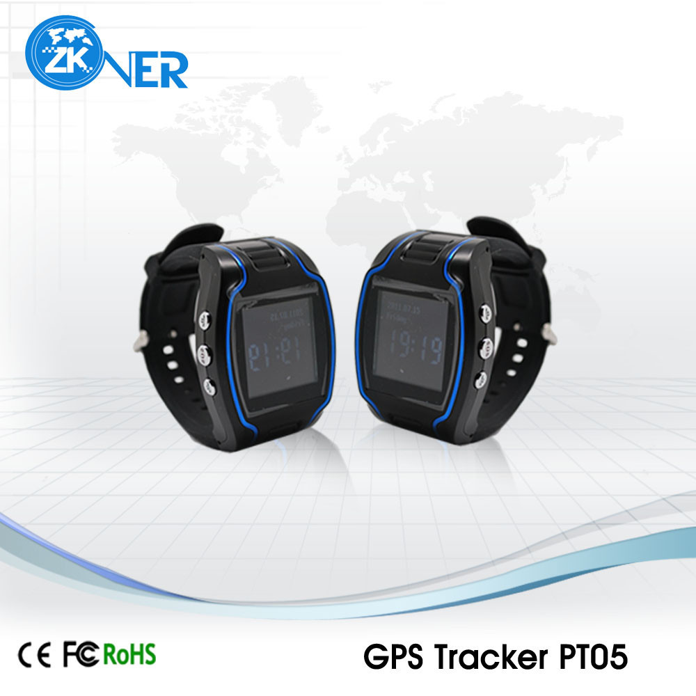 global Mini GPS Tracker/GPS Watch Tracker With SMS & GPRS Online Tracking