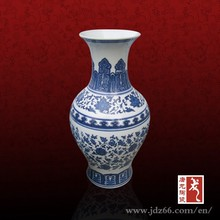 Yuan dynasty design blue and white ancient chinese vases