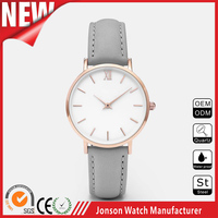 OEM & ODM Latest design stainless steel watch women quartz movement custom watch concepts