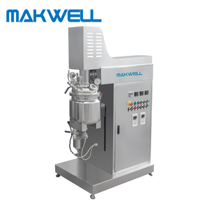 Various type face cream homogenizer vacuum emulsifying mixer