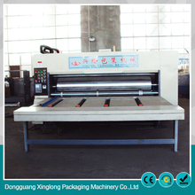 High productivity ink semi automatic six color printing machine