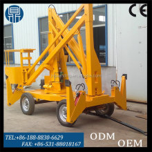 Hot sale CE ISO mobile vehicle mounted articulated boom lift for street light maintance