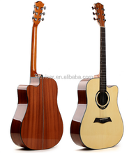 Chinese Musical Instrument 41 inch best quality Acoustic electric Guitar