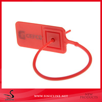Sinicline Plastic security seal for container with Metal Lock inside