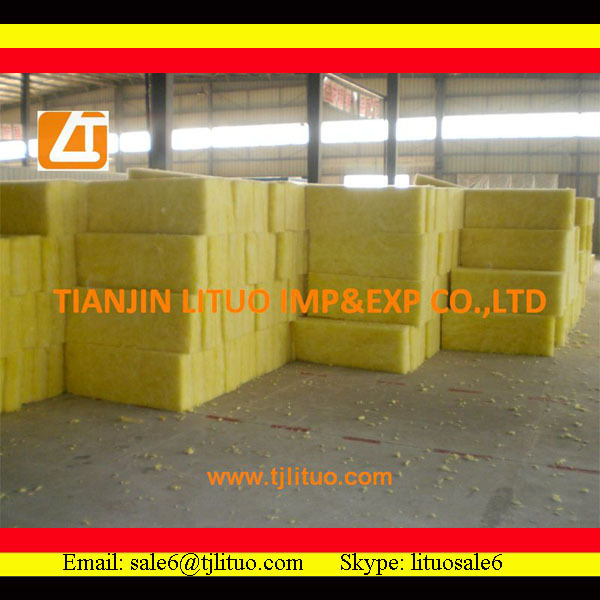 steel structure glass wool building insulation material