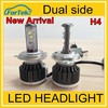 New arrival H7 Single Kit 6000K white 30W 3000LM LED Car Head Light