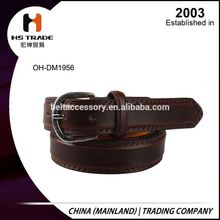 Updated low price pu leather belts for men