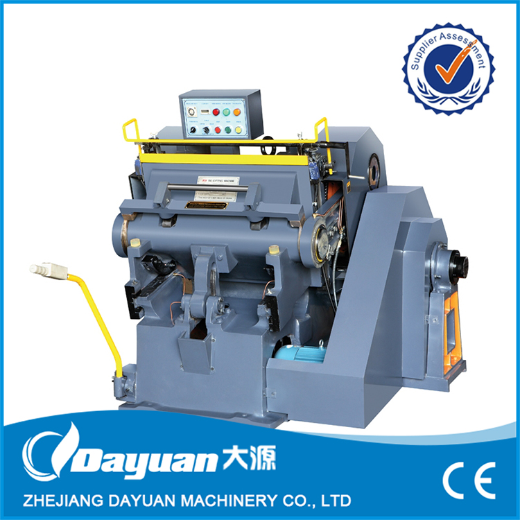 Factory Supply die cutting and creasing machine for promotion