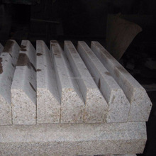 Padang Yellow granite road side curb stone pricing