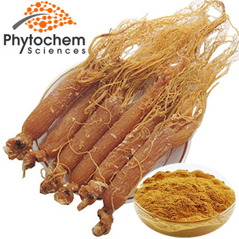 Korean Red Ginseng Root Extract 20% Ginsenosides Low Pesticides
