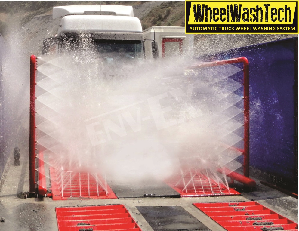Automatic Truck Wheel Washing System From Turkey Supplier