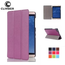 Wholesale Trifold Smart Leather PU Tablet Cover For Huawei Mediapad T1 T2 T3 7.0 8.0 10.1 Inch Case