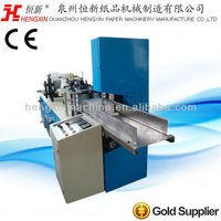 Two colors printing embossing napkin paper folding machine