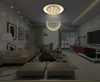 Modern Chandelier Crystal Light Crystal Pendant Lamp Hotel Lamp crystal