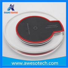 2015 hot sell factory wholesale fantasy wireless charger for samsung s6