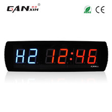 [Ganxin]3'' Multi-Functional Promotional Led Crossfit Clock Timer Electronic Digital Gym Fitness Crossfit Interval Timer Clock