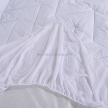 100% cotton Quilted mattress pad