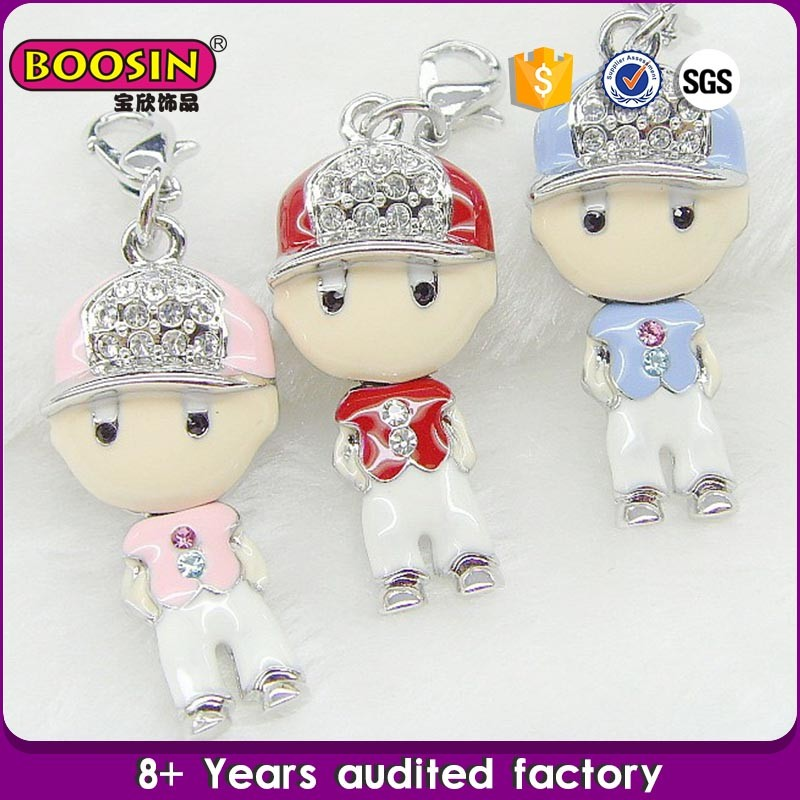 2015 New Designgold plated boys charms