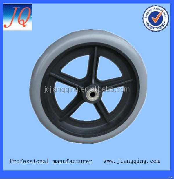 "Quality hot selling 8"" wheelchair front wheel"
