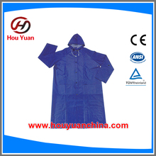 Raincoats with reflective tape <strong>Safety</strong> for kids from houyuan with PVC POLYESTER