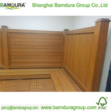 antiproof exterior 100% natural moso bamboo fence
