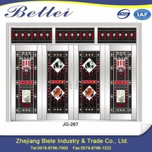 Security metal stainless steel main door design used