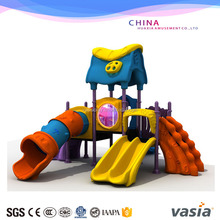 2105 huaxia cheap preschool gym outdoor play equipment for kids castle