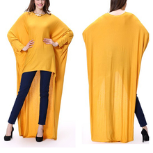 Muslim Tunic Tops Blouse Design Plus Size Long Top For Muslim Girls