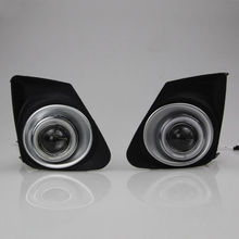DRL COB Angel Eyes Fog lights LED fog Lamp For Toyota Corolla 2011-12