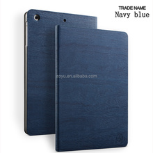 Zoyu generation-Factory Wholesale Price Smart luxury tree grain PU case for ipad mini 1/2/3