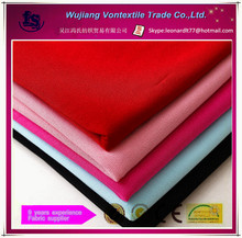 Wujiang factory supply 100% polyester knitted moss crepe fabric for dress,garment,etc