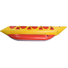 High Quality Pvc 0.9MM Inflatable Water Sport Products Flying Fish Banana Boat For 4 Persons