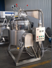 Vacuum cooking double jacketed kettle