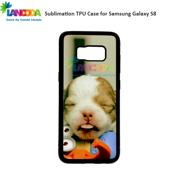 Soft rubber Sublimation Phone Cover for Samsung Galaxy S8
