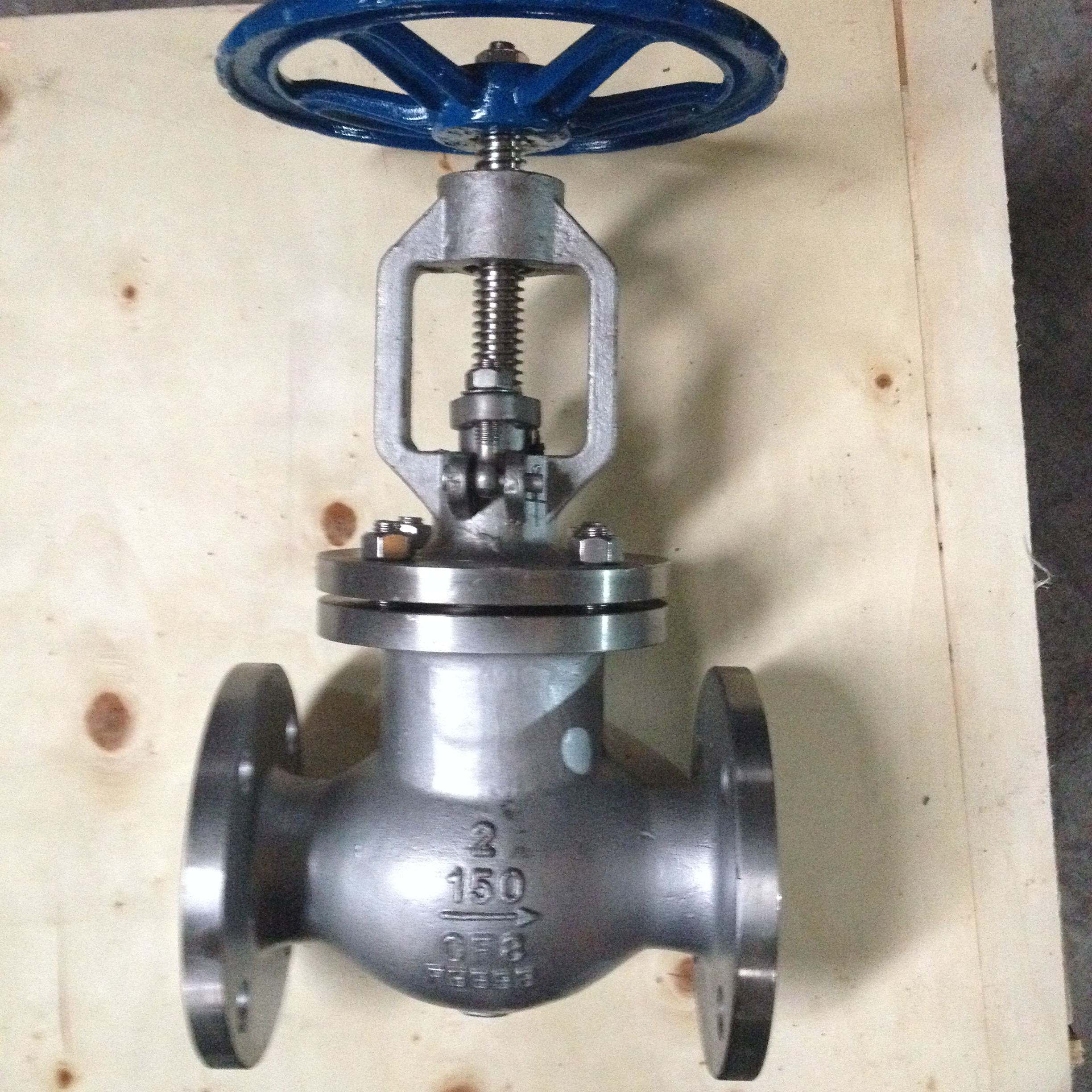 cheap Globe Valve Bb Plug Type Disc Rising Stem Os &amp Y Renewable Seat